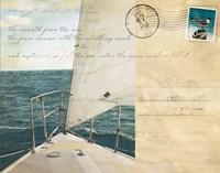 Voyage Postcard I Fine-Art Print