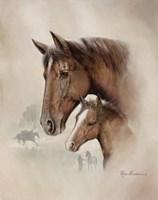 Race Horse I Fine-Art Print