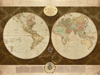 Map of World Fine-Art Print