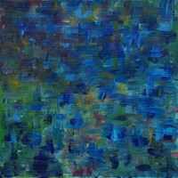 Mixed Emotions in Blue II Fine-Art Print