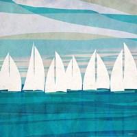 Afternoon Regatta II Fine-Art Print