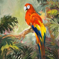 Parrots at Bay I Fine-Art Print