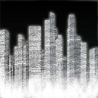 Black and White City I Fine-Art Print