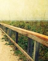Beach Rails II Fine-Art Print