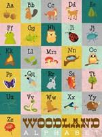 Woodland Alphabet Fine-Art Print