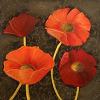 Gilded Floral I Fine-Art Print