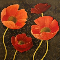 Gilded Floral II Fine-Art Print