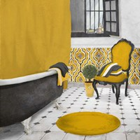 Sundance Bath I (yellow) Fine-Art Print
