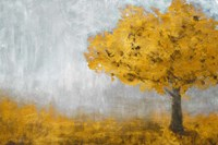 Yellow Eternal Tree Fine-Art Print