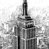 Empire State Sketch Fine-Art Print