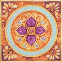 Pink Medallion II Fine-Art Print