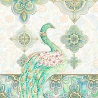Emerald Peacock I Fine-Art Print