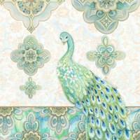 Emerald Peacock II Fine-Art Print
