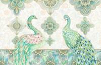 Emerald Peacock Rectangle Fine-Art Print