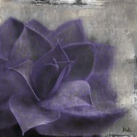 Lavender Succulent II Fine-Art Print