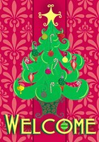 Christmas Tree Welcome Fine-Art Print