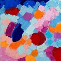 Flower Amoebic Party II Fine-Art Print