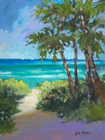 Caribbean View I Fine-Art Print