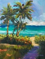 Caribbean View II Fine-Art Print