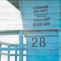 Life Guard Beach Shack Fine-Art Print