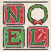 Noel and Santa II Fine-Art Print