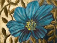 Simple Blue Garden I Fine-Art Print