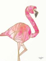 Origami Flamingo Fine-Art Print