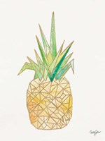 Origami Pineapple Fine-Art Print