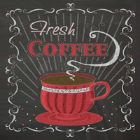 Coffee Chalk Square I Fine-Art Print