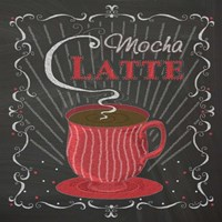 Coffee Chalk Square II Fine-Art Print