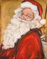 Smiling Santa Fine-Art Print