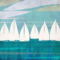 Afternoon Regatta I Fine-Art Print