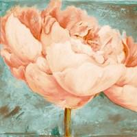 Beautiful Peonies Square II Fine-Art Print