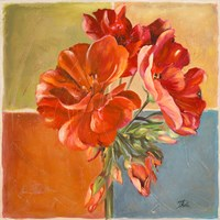 Red Geraniums II Fine-Art Print