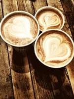 Love in a Latte Fine-Art Print