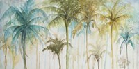 Watercolor Palms Fine-Art Print