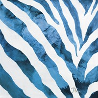 Watercolor Zebra I Fine-Art Print