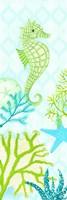 Seahorse Reef Panel I Fine-Art Print