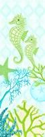 Seahorse Reef Panel II Fine-Art Print