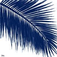 Indigo Baru Palm II Fine-Art Print