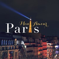 Mon Amour Paris Square Fine-Art Print