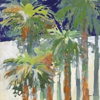 Wood Shadow Palms II Fine-Art Print