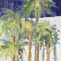 Wood Shadow Palms I Fine-Art Print