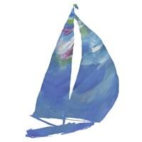 Set Sail on White II Fine-Art Print