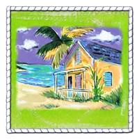 Beach-Front Cottage Fine-Art Print