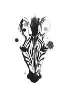 Zebra Splash Fine-Art Print