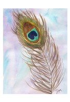 Peacocl Feather 2 Fine-Art Print