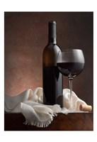 Red Wine And Cork Fine-Art Print