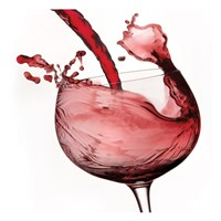 Red Wine Pour 2 Fine-Art Print
