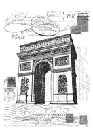 Eco Vintage Paris 2 Fine-Art Print